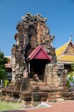 Wat Kamphaeng Laeng was originally a 12th century Khmer Hindu place of worship, later becoming a Buddhist temple. Phetchaburi probably also marked the southernmost extent of the Khmer Empire.