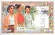 French Indochina Banque de l'Indochina (Bank of Indochina) One Piastre banknote. Image on front shows (left to right) Cambodian, Lao and Vietnamese women in traditional dress.